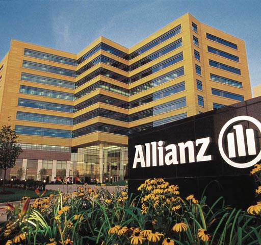 allianz building sign