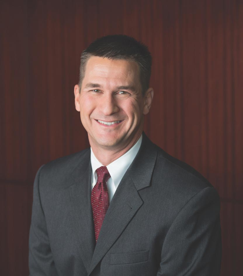 Headshot of BILL GAUMOND, Chief Financial Officer