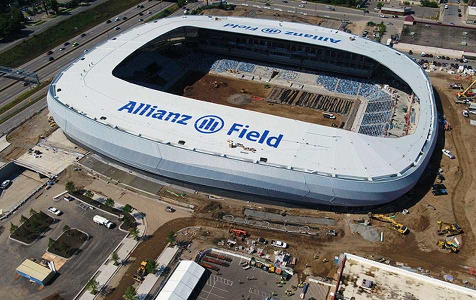 Allianz Field construction update 9 2018